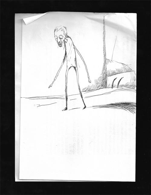 Magão com tampa do scanner aberta, por Daniel Liberalino.